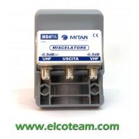 Miscelatore da palo 2 ingressi Mitan MB4PA