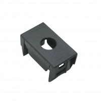 Ave System 45–Noir Ax - adattatore a un foro