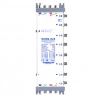 LEM Elettronica SCW416/8 Multiswitch Ibrido Passante 4 Ingressi VH/VH o Wide Band e 8 uscite dCSS/SCR