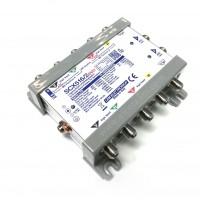 LEM Elettronica SCX516/2evo Multiswitch Ibrido Passante 5 Ingressi e 2 uscite dCSS/SCR