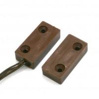 Contatto magnetico marrone per montaggio a vista FDP A-R3P
