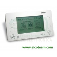 Telecomando wireless Touch screen Nice HSTS2IT per sistemi Nice HomeSystem