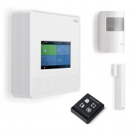Nice MYNICE Kit 7001 Touch con Centrale Wireless Radio e Filare e Touchscreen Integrati