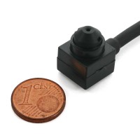 Micro Telecamera CCD Sony con Lente Pinhole e Microfono QH-149SA