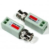 Coppia Balun Convertitore Video UTP - BNC dritti VS202-T