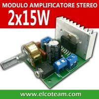 Modulo Amplificatore con IC TDA7297