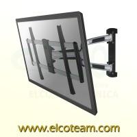 Supporto articolato da parete per TV NewStar LED-W700SILVER