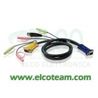 ATEN 2L-5303U Cavo 3 m per KVM USB
