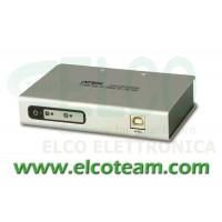 Convertitore da USB a 2 porte RS-232 Aten UC2322