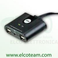 Aten US224 Switch 2 porte per 4 periferiche USB 2.0
