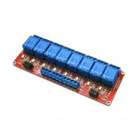 Shield per Arduino con 8 Relè elettromeccanici bobina 5V