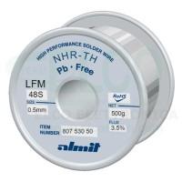 Almit 80753050 Lega di Stagno in Filo SAC305 Flux LO diametro 0,5mm 500 grammi