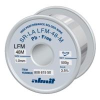 Almit 80861550 Lega di Stagno in Filo SAC305 Flux M1 diametro 1mm 500 grammi