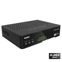 Edision Piccollino S2 + T2/C Ricevitore Decoder Combo Digitale Terrestre e Satellitare Full HD H-265
