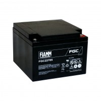 Fiamm FGC22705 Batteria al piombo uso ciclico 12V 27Ah