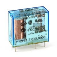 Finder 40.31.7.012.0000 Relè Elettromeccanico Bobina Sensibile 12 VDC