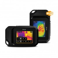 "Flir C3 Termocamera tascabile 80x60 punti con display 3"" touchscreen e WiFi"