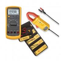 Promo Fluke con Multimetro industriale Fluke 87V, Pinza Amperometrica i410 e set di Accessori L215
