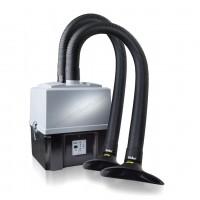 WellerFT Zero Smog TL Kit 2 Sistema Aspirazione Fumi per due postazioni