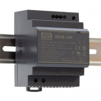 Mean Well HDR-100-24 Alimentatore Ultra Compatto 24V 3,83A da Barra DIN