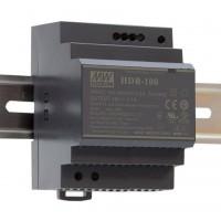Mean Well HDR-100-12 Alimentatore Ultra Compatto 12V 7,1A da Barra DIN