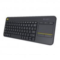 Logitech K400 Plus Wireless Touch Keyboard per Smart TV e HTPC