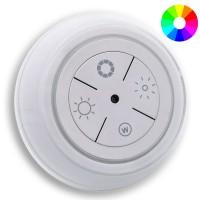 Luce Notturna Bianca e Colorata RGB a LED Dimmerabile da Presa 230 Volt con sensore automatico