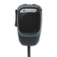 Midland DUAL MIKE Microfono Digitale Preamplificato Bluetooth per CB con connettore 4 pin C1283