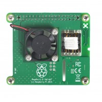 Raspberry PoE HAT Modulo PoE per Raspberry Pi 3 Model B+
