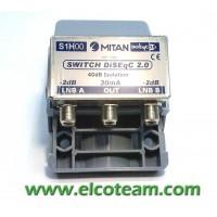 Commutatore DiseqC Mitan S1K00