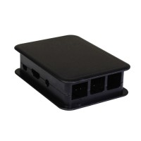 TEK-BERRY3.9 Case nero per Raspberry Pi 3 model B
