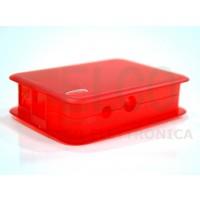 Case Tekberry Rosso Trasparente