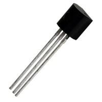 BC237B Transistor NPN 45V 100mA TO-92 ON Semiconductor