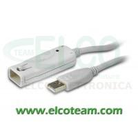 Prolunga attiva USB 12mt Aten UE2120
