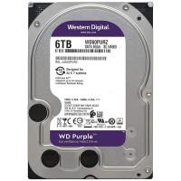 WD Purple 6 TB HDD Hard Disk per Videosorveglianza WD60PURZ SATA 6Gb/s