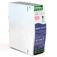Mean Well WDR-120-24 Alimentatore 24VDC 5A da Barra DIN
