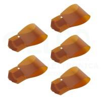 Weller T0051361699 set 5 bandelle Kapton per tubo vetro
