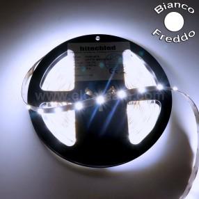 HT-Link F30R-60W12 Striscia LED 5 Metri Colore Bianco Freddo 12 VDC IP30
