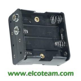 Portabatteria per 8 stilo AA 4-4