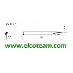 4SPI15211 Punta 2mm