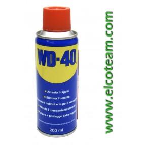 Spray lubrificante disossidante multifunzione WD40 200ml