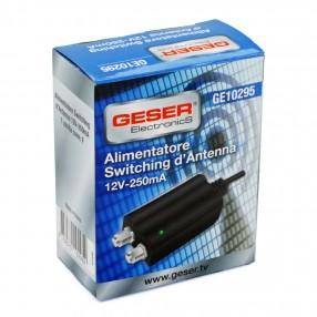 GESER GE10295 Alimentatore per Antenna Miniaturizzato 12V 250mA