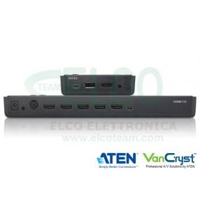 ten VE829 Estensore e Matrice Wireless 5x2 - Vista Posteriore