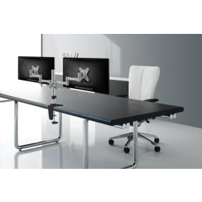 Supporto da scrivania per 2 monitor NewStar FPMA-D1330DSILVER