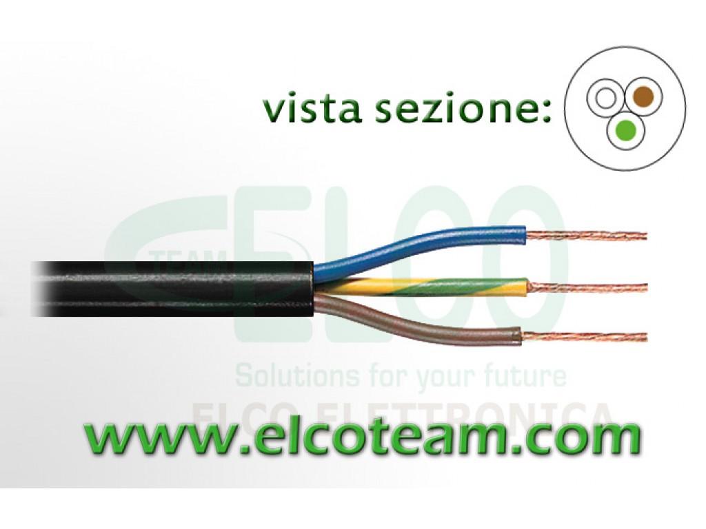 3x1mm Black Power Cable Tasker C262 Elcoteam Com