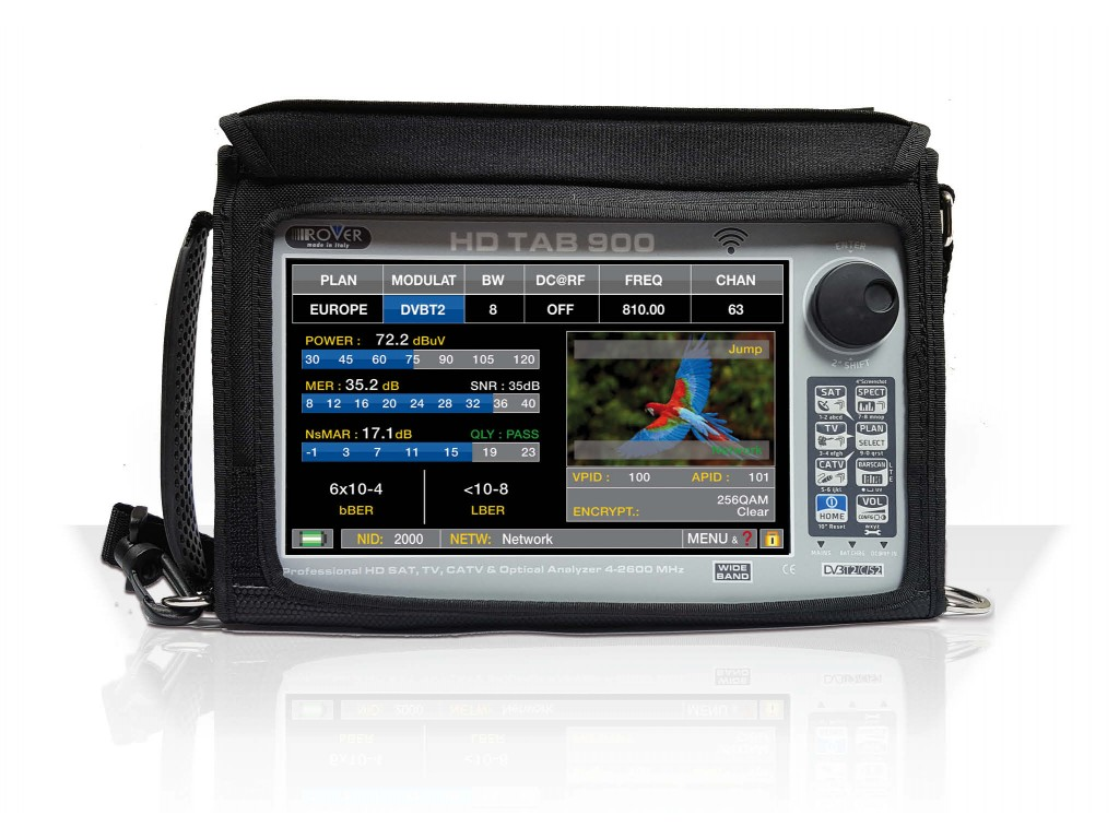 Rover HD Tab 900 Plus Professional Field Meter with 9