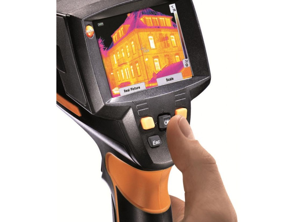 357acf0837 Testo 875-1i radii thermal imaging camera with Super Resolution ...