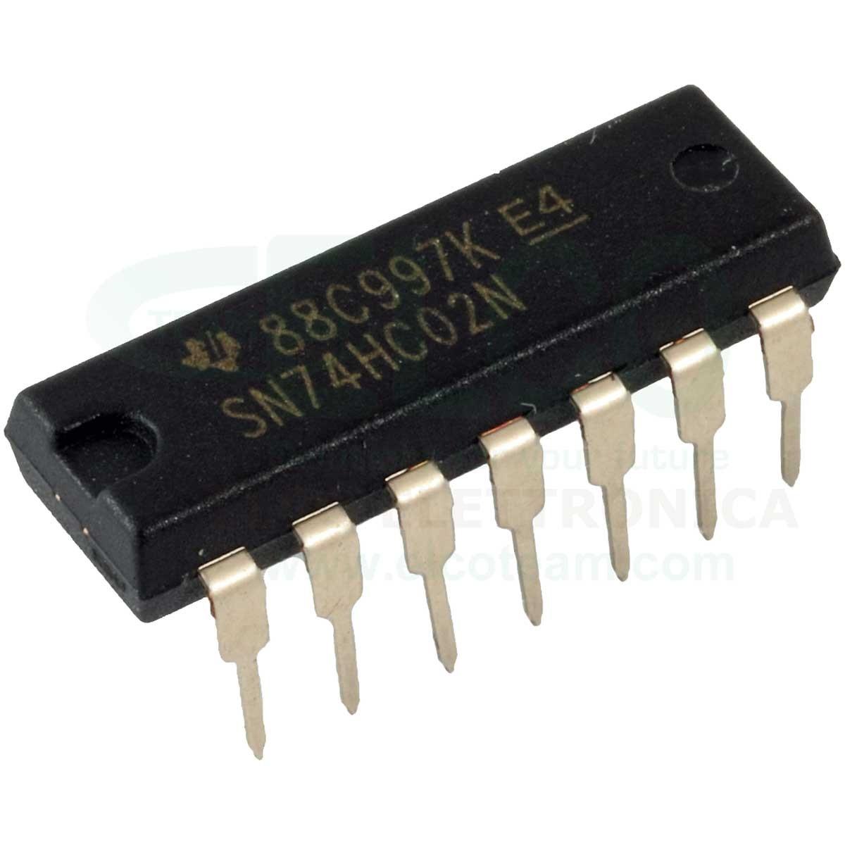 Sn74ls00n circuito integrato dip-14