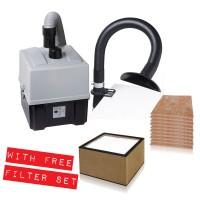 Promo WellerFT Zero Smog TL Kit 1 Aspira fumi per singola postazione + set filtri di ricambio FT91015691