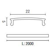 PROF42N dimensioni